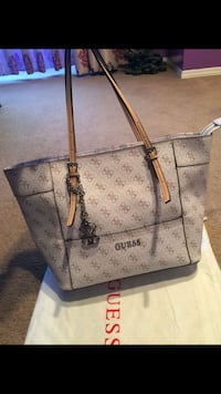 monogrammed brown Louis Vuitton leather tote bag 3120 km