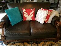 Ashley Leather Loveseat in great condition!