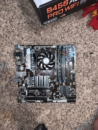 Gigabyte mother board and Ryzen cpu