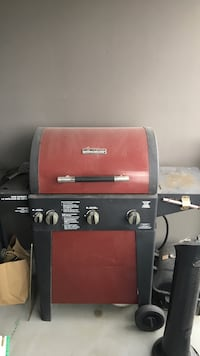 red and black Brinkmann gas grill Richmond, V6X 2B6