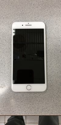 At&t IPhone 8 Plus 256 white Little Silver, 07739