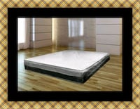 Singlesided pillowtop mattress with box spring District Heights, 20747