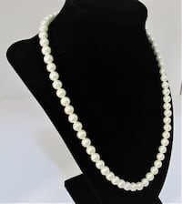 VINTAGE SARAH COVENTRY SINGLE STRAND FAUX PEARL NECKLACE Manchester