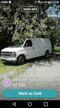 Chevrolet - Express - 2000 Rockville, 20850