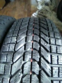 2 Firestone Winterforce Tires..ONLY USE ONE WINTER