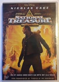 Walt Disney National Treasure DVD-fodral