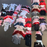 Huge lot girls clothing (3-6 month) Pointe-Claire, H9R 1M9