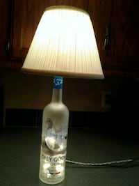 Grey goose liquor bottle lamp, $25.00 Knoxville, 37934
