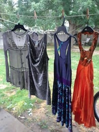 FREE PEOPLE  2 DRESSES 2 SHIRTS SIZE SMALL.  Boise, 83701