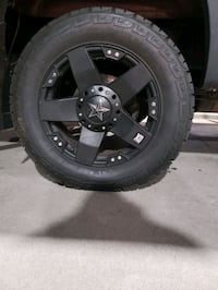 KMC Rockstar rims and tires 275/65/20 Centreville, 20121