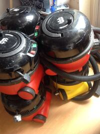 red and black wet and dry vacuum cleaner Croydon, SE25 5BG