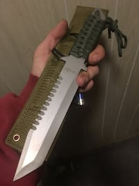 Hand forged survival knife Nashua, 03062