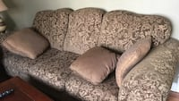 brown and beige three seater couch Cambridge, N1T 1W4