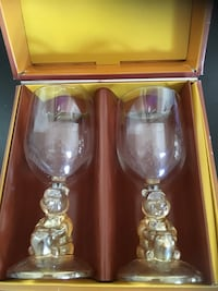 Winnie the Pooh glass set of 2 New Westminster, V3M 2C9