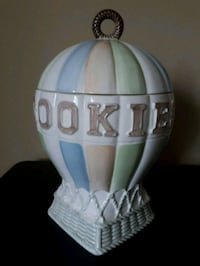 Hot Air Balloon Cookie Jar Woodstock, N4T 1T6