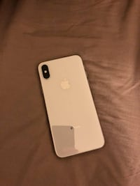 Silver iPhone x unlocked 64gb St. Catharines