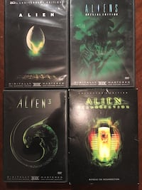Alien movie DVD set