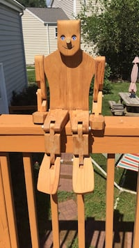 Wooden moveable/ posable Man Poolesville, 20837