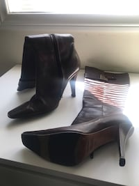 Used but great condition Charles David brown boots Burbank, 91506