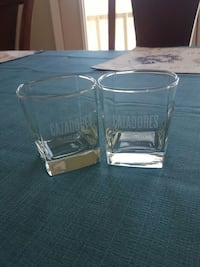 cazadores low ball glasses Rush, 14543