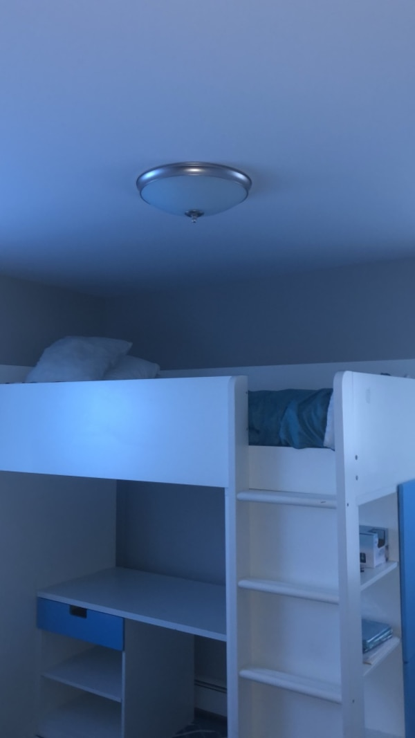 IKEA Stuva loft bed  With memory foam mattress  Must sell ASAP  You  disassemble and remove