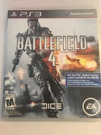 Battlefield 4 game for ps3 Rio Rancho, 87144