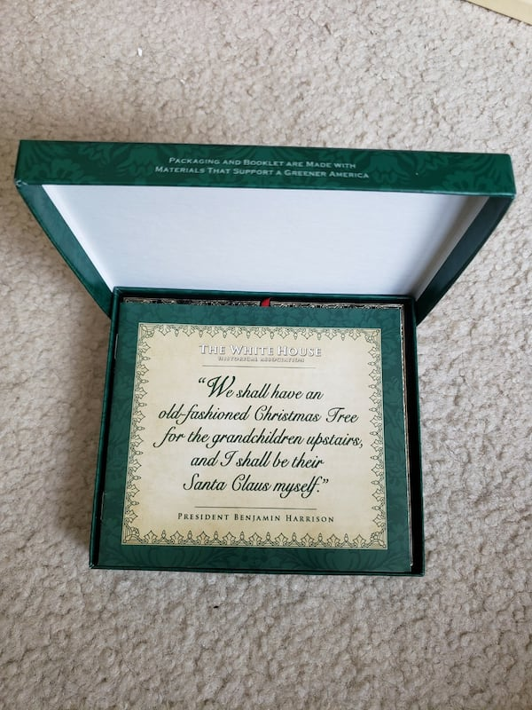 2008 Collectible White House Christmas Ornament 3