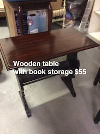 brown wooden table with chair Hamilton, L8V 1B3