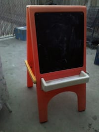 red and black wooden easel 2274 mi