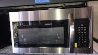 New Frigidaire 30in over the range microwave with 6 months warranty