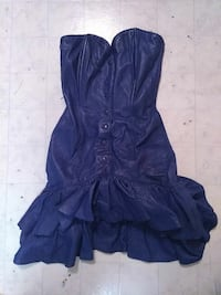 Blue Leather dress Edmonton, T5E 5J8