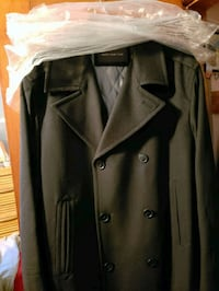 Marc New York black pea coat