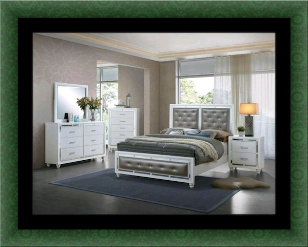 Used 11pc Mackenzie bedroom set with mattress for sale in Laurel