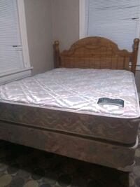 Queen size bed: $55 total - Price includes deliver