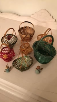 little  baskets $5ea or $30 for lot Silver Spring, 20906