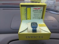 Invicta ceramics blue tone watch Oklahoma City, 73108