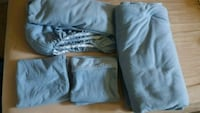 Blue soft fleece bed sheet set Lakewood, 98498