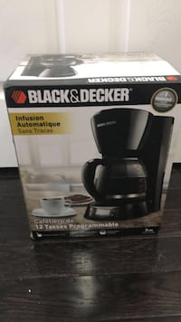 Brand new in the box coffee machine black and Decker  Brampton, L6R 3R9