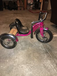 Red and black pedal trike Columbus, 43085