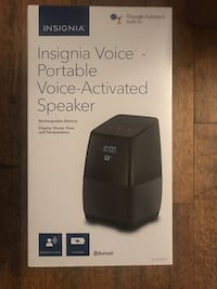 Insignia Voice Smart Portable Bluetooth Speaker w/ Google Assistant Burtonsville