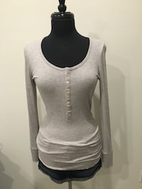 New tna grey top size M