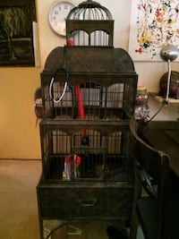 Bird Cage With Drawer