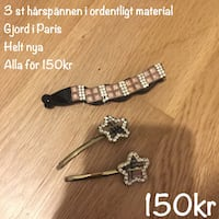 Hår accessoarer rosetter hårband hair accessory fynd billigt mode trend stark kvalite gjord i Paris made in Paris