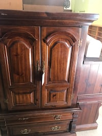 Solid Pine Wood Armoire / Wardrobe  Alexandria, 22306