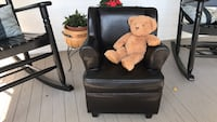 Child Faux Leather Chair (compare *New at $80)