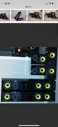 Accusound center channel front and rear 5.1 surround speakers ..theat Toronto, M6K 2W5