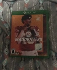 Xbox one madden 20 Sioux Falls, 57105