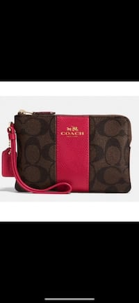 Black and red coach wristlet Citrus Heights, 95621