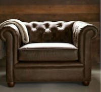 Chesterfield Leather Armchair   Calgary, T3M