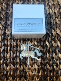 more & more Antiques Unicorn Carousel Ornament amazing old world  Sayreville, 08872